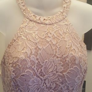 NWT NIGHTWAY DRESS COLOR ROSEGOLD